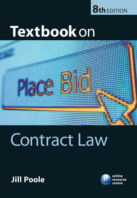 Poole Jill: Textbook on Contract Law